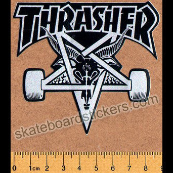 Thrasher Magazine Skateboard Sticker - SkateboardStickers.com