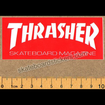 Thrasher Magazine Skateboard Sticker small