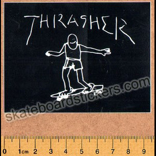Thrasher Magazine Skateboard Sticker