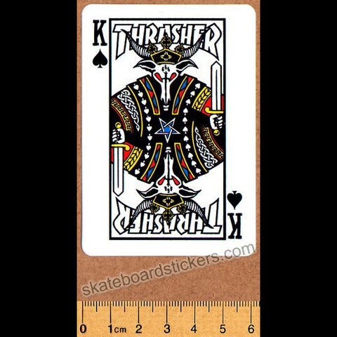 Thrasher Magazine King Skateboard Sticker
