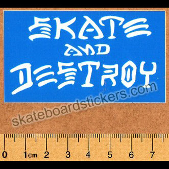Thrasher Magazine Skate and Destroy Skateboard Sticker