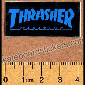 Thrasher Magazine Old School Skateboard Sticker