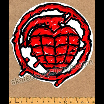 Thunder Trucks - Hand Grenade Skateboard Sticker
