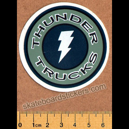 Thunder Trucks Old Skateboard Sticker