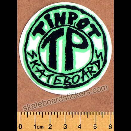 Tinpot Skateboards Skateboard Sticker