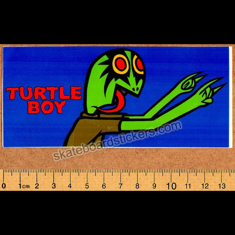 Toy Machine Turtle Boy Old Skateboard Sticker