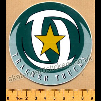 Tracker Trucks Old School Skateboard Sticker