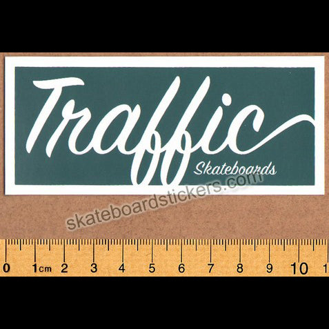 Traffic Skateboards Sticker