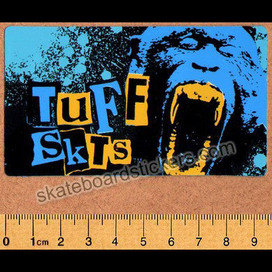 Tuff Skts Old School Skateboard Sticker