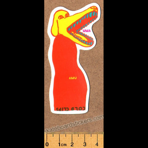 UMA Landsleds Skateboard Sticker (by Evan Smith, Thomas Campbell and Nathaniel Russell)