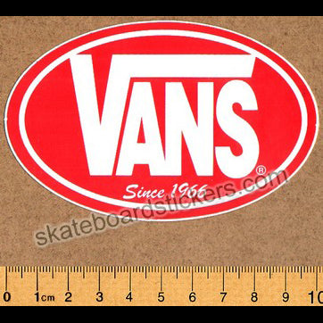 Vans Shoes Old School Skateboard Sticker