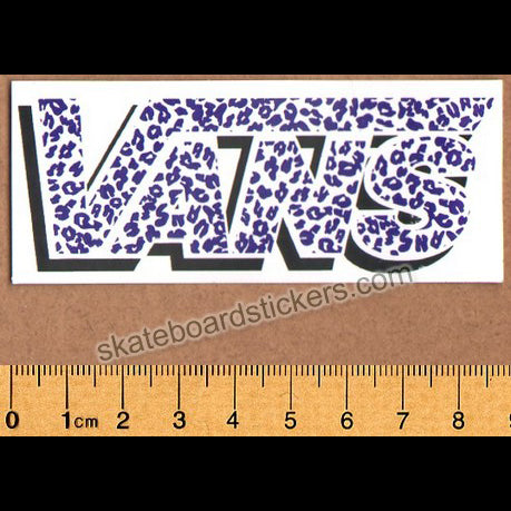 Vans Shoes Old Skateboard Sticker