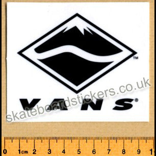 Vans Shoes Old School Skateboard Sticker - SkateboardStickers.com