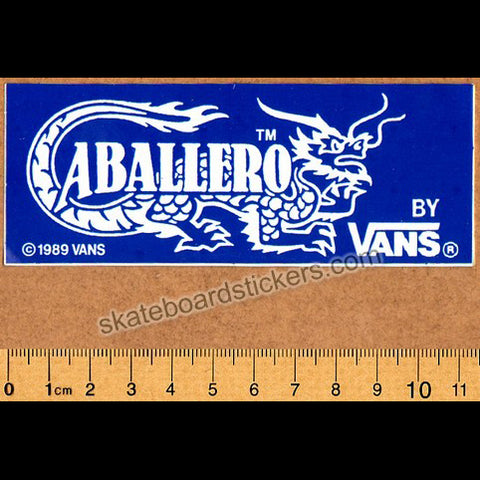 Vans Steve Caballero Old School Skateboard Sticker