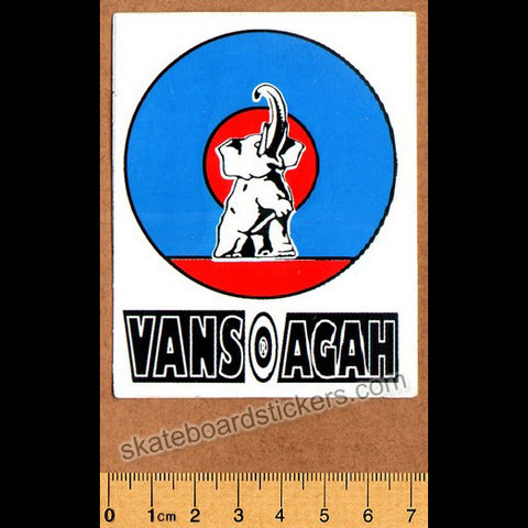 Vans Salman Agah Old School Skateboard Sticker