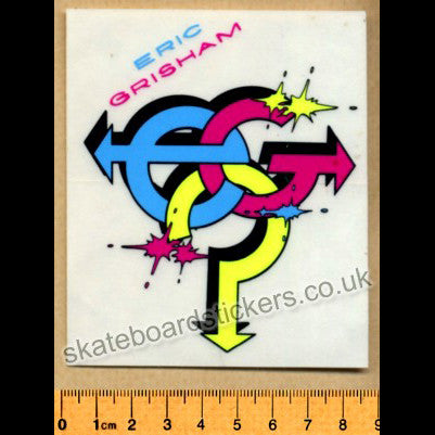 Variflex Old School Rare Vintage Skateboard Sticker - SkateboardStickers.com