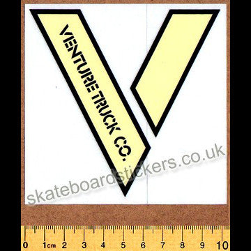 Venture Trucks Skateboard Sticker - SkateboardStickers.com