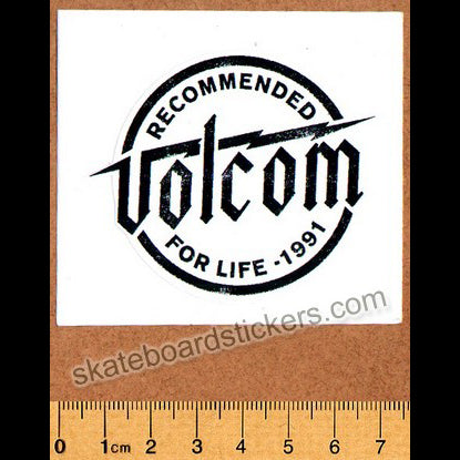 Volcom Skateboard Sticker