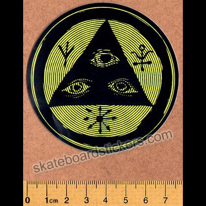 Welcome Skateboards Vertigo Skateboard Sticker
