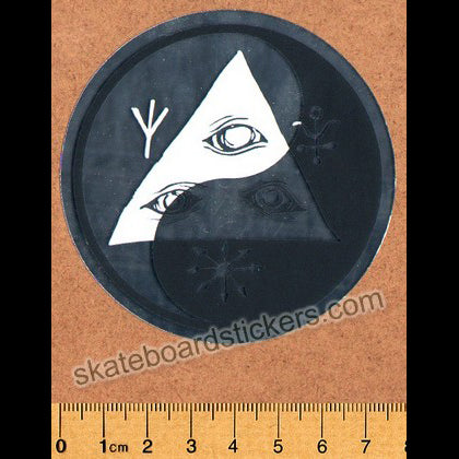 Welcome Skateboards Balance Skateboard Sticker