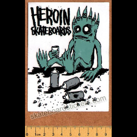 Heroin Skateboard Sticker