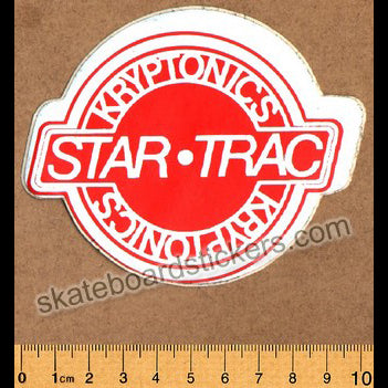 Kryptonics Vintage 70s Old School Skateboard Sticker