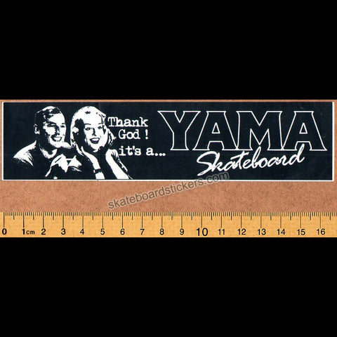 Yama Skateboards Skateboard Sticker