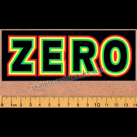 Zero Skateboard Sticker - SkateboardStickers.com