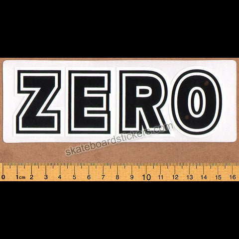 Zero Bold Skateboard Sticker