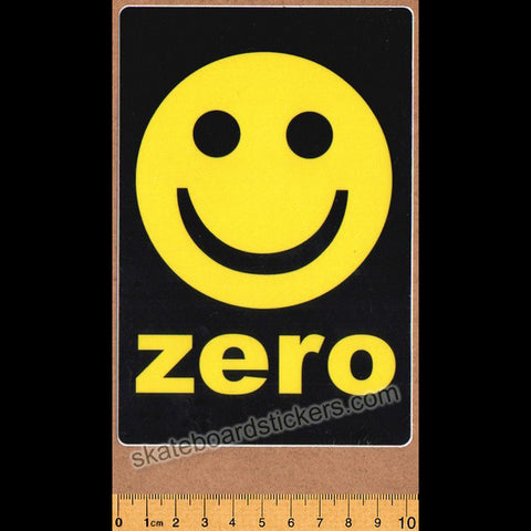 Zero Smiley Skateboard Sticker