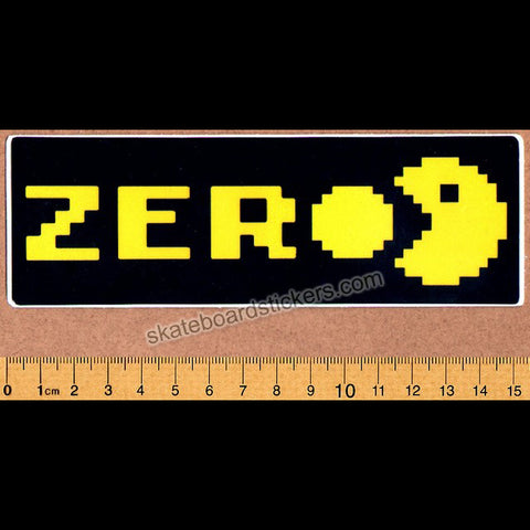 Zero Chomp Skateboard Sticker