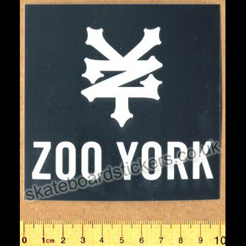 Zoo York Skateboard / BMX Sticker - SkateboardStickers.com
