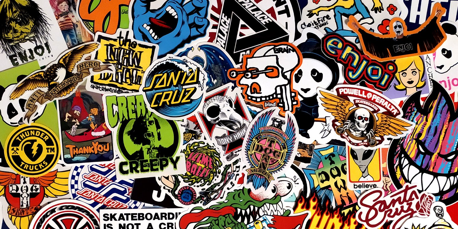 Free Skateboard Stickers!