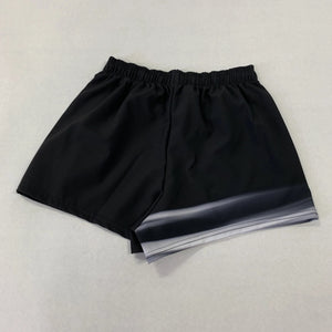 Ladies Black Zoom Shorts
