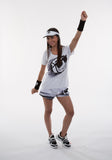 Athletic T - White Zoom - Ladies