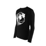 Stretch Tight Long Sleeve - Black Zoom