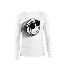 Load image into Gallery viewer, Men's White Zoom Stretch Tight Long Sleeve