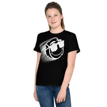 Load image into Gallery viewer, Youth Unisex Zoom Tennis Shirt Black