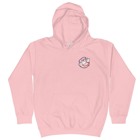 Hoodie - Buddy in Pink - Youth