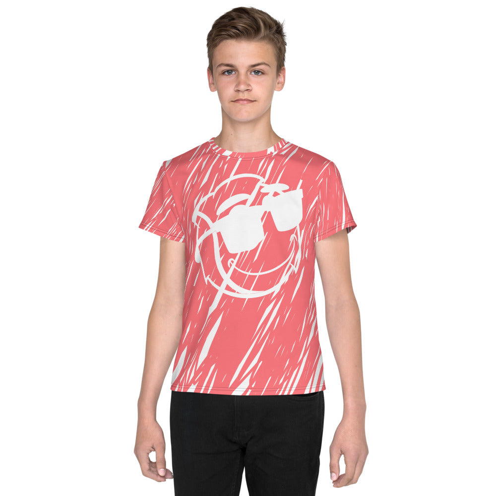 Buddy Pink Scribbles Athletic T