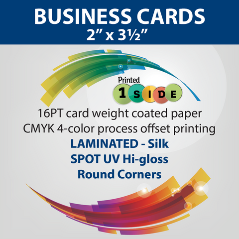 business cards, postcards, brochures, folders, online printing service-extramileprinting.com