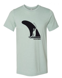 Single Fin Surfer (Unisex)