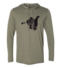 Load image into Gallery viewer, Shaka MD Hoodie Tee (Unisex)