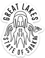 Load image into Gallery viewer, Great Lakes State of Shaka (Sticker)