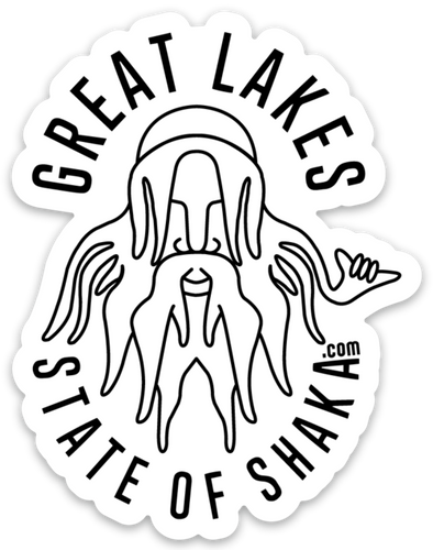 Great Lakes State of Shaka (Sticker)