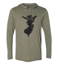 Load image into Gallery viewer, Shaka NJ Hoodie Tee (Unisex)