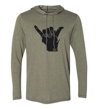 Load image into Gallery viewer, Shaka WI Hoodie Tee (Unisex)