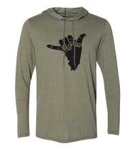 Load image into Gallery viewer, Shaka IL Hoodie Tee (Unisex)