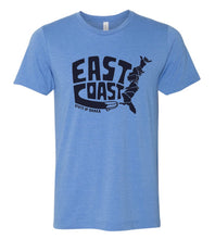 Load image into Gallery viewer, East Coast State of Shaka Unisex Tee