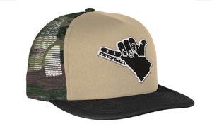 Shaka SC Trucker Patch Hat